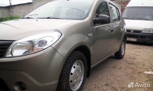 Renault Sandero, 2011 89157609472 купить 1