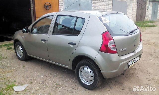Renault Sandero, 2011 89157609472 купить 2