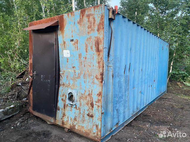 Вагончик-баня на базе контейнера 20 Футов купить 2