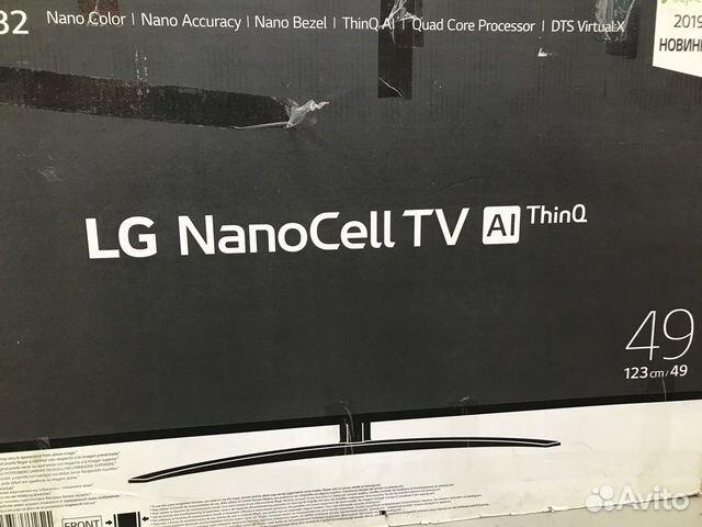89270863062 Новый 49 123см NanoCell 4K LG magicRemote SmartTV