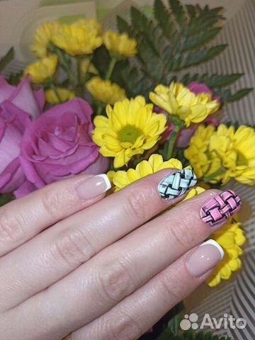 Наращивание ногтей,покрытие гель-лаком
