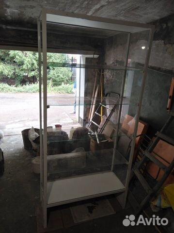 Стеклянный стеллаж (витрина для магазина)  89293686087 купить 5