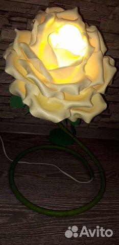 Подарок близким цветок Розы (светится)