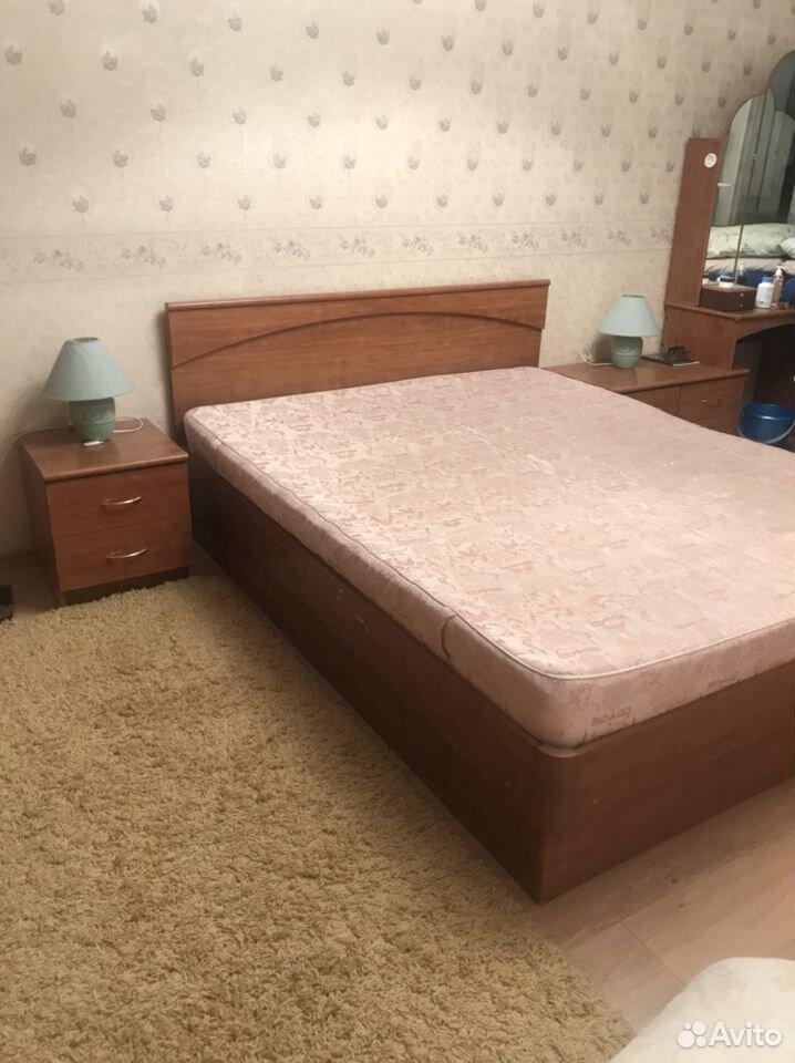 Кровать двуспальная с прикроватными тумбами  89039082198 купить 4