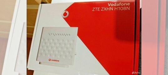 Wi-Fi adsl роутер ZTE zxhn H108N