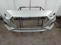 Передний бампер Hyundai Solaris