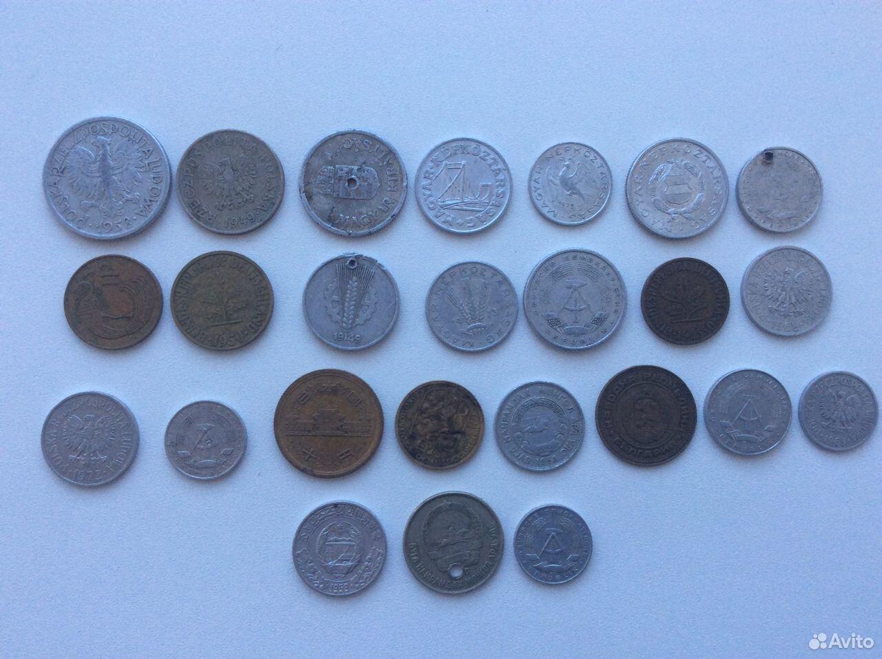 Монеты разных стран  89040796251 купить 2