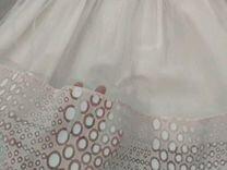 Платье натуральное в горошек