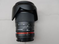 Samyang для Sony 35 мм