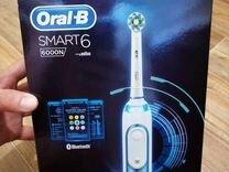 Новая зубная щётка Oral-B smart6