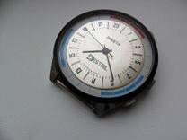 Часы Ракета СССР 24 часа хром