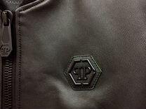 Philipp Plein Оригинал куртка кожаная — Одежда, обувь, аксессуары в Москве