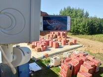 Видеонаблюдение за стройкой — Аудио и видео в Казани