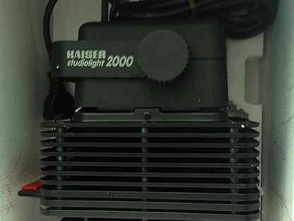 Студийное освещение kaiser studiolight 2000