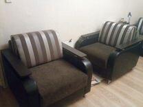 Диван - еврокнижка + 1 кресло — Мебель и интерьер в Москве