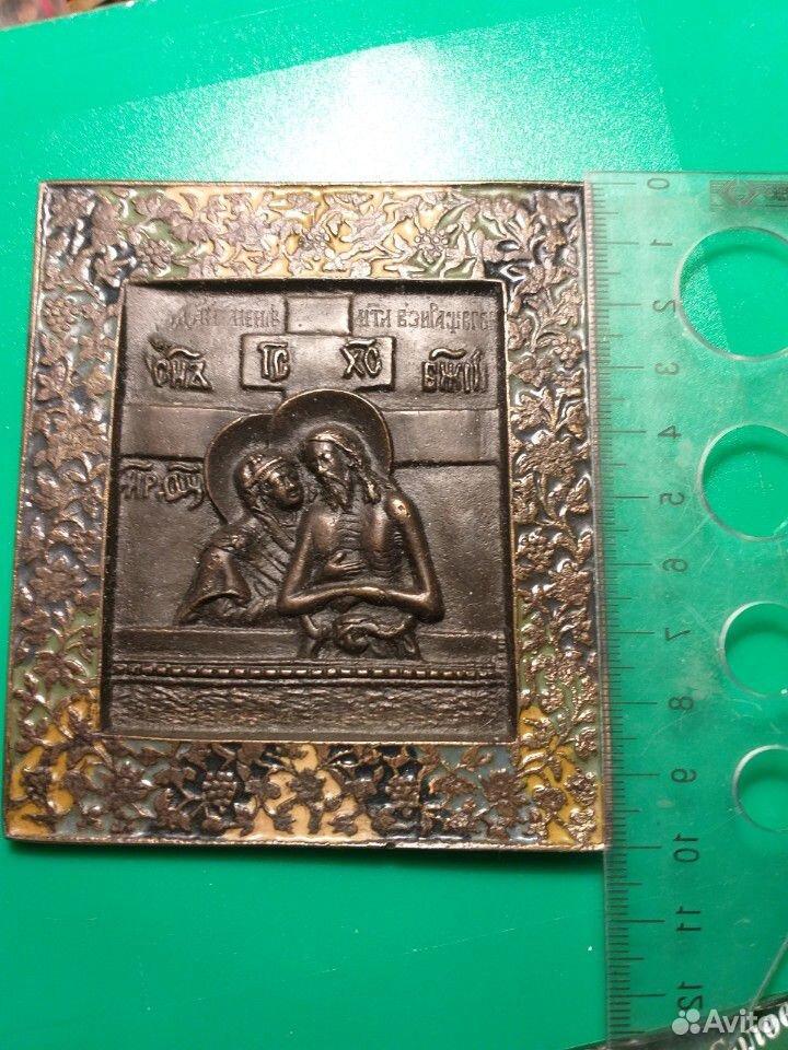 Икона с эмалями  89126080114 купить 1
