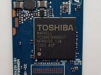SSD Toshiba 128GB твердотельный накопитель