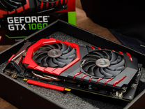MSI GTX 1060 Gaming 3Gb (ещё 1 год гарантии) — Товары для компьютера в Геленджике