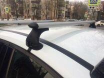 Багажник на крышу Ford Focus III (до 100кг) + монт