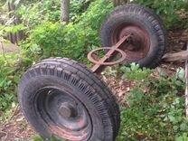 Тележка тракторная, передняя ось