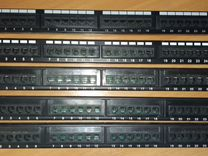 Патч-панель 24 порт Cat 5E