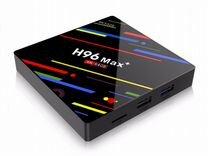 Много-функциональная Смарт тв H96 MAX+ 4/64Гб