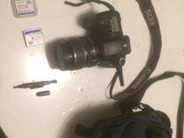 Canon eos 20d + объектив canon efs 17-85