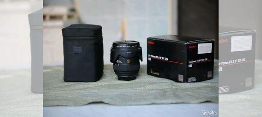 Sigma Af 24 70mm F28 If Ex Dg Hsm For Nikon F 28 Avito