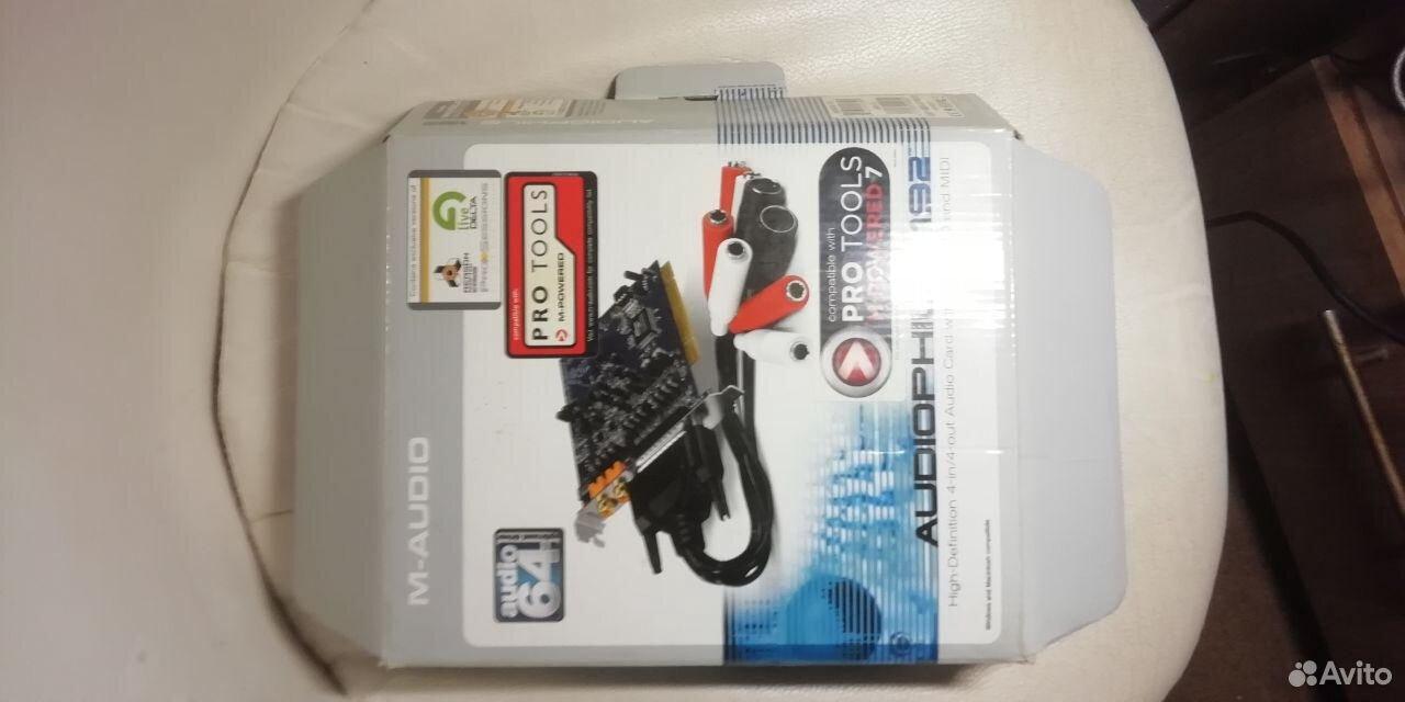 Звуковая карта M-Audio Audiophile 192  89529978485 купить 6