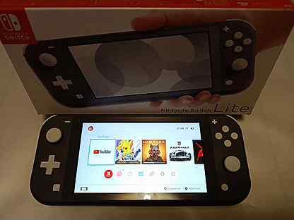 Nintendo switch lite новая