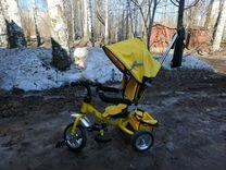 Велосипед трёхколёсный с регулировкой. Багажник, к