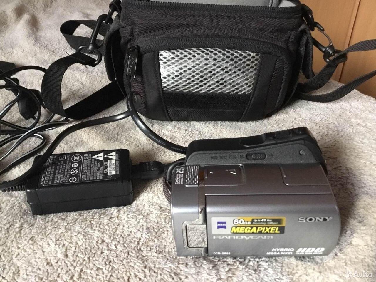 Видеокамера Sony DCR-SR85E  89220484164 купить 5