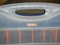 Пластиковый бокс органайзер Plastiken 48х38х7,6 см — Ремонт и строительство в Москве