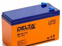 Новая акк. батарея Delta для ибп 12V / 7.2A