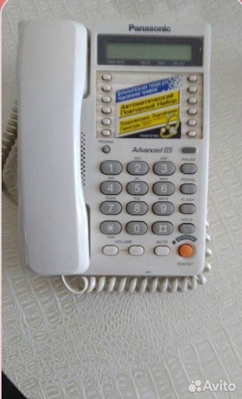 Продам телефон стационарный Panasonic б/у  89131778886 купить 1