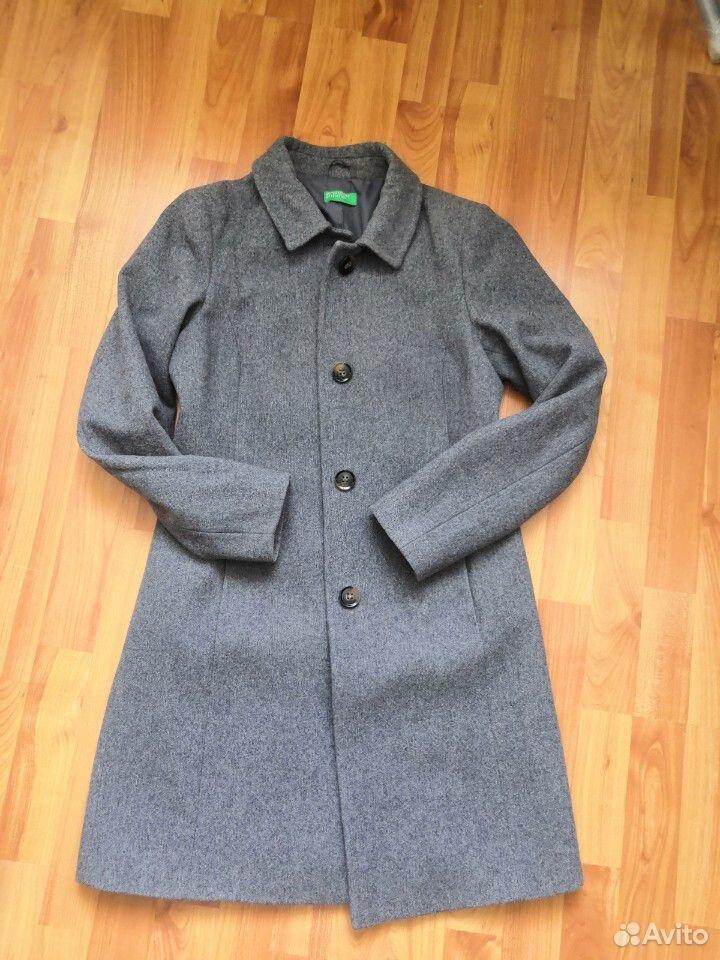 Пальто демисезонное Benetton (шерсть)  89033216335 купить 1